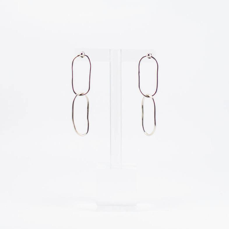 Linked Earrings