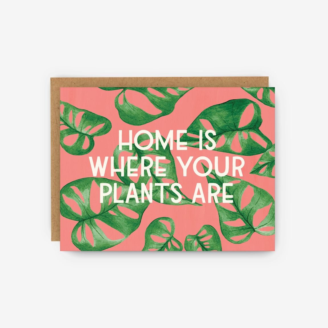 Plant Home Card