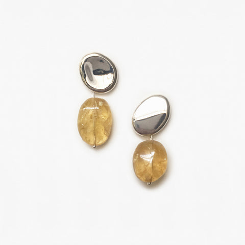 Citrine Aril Earrings