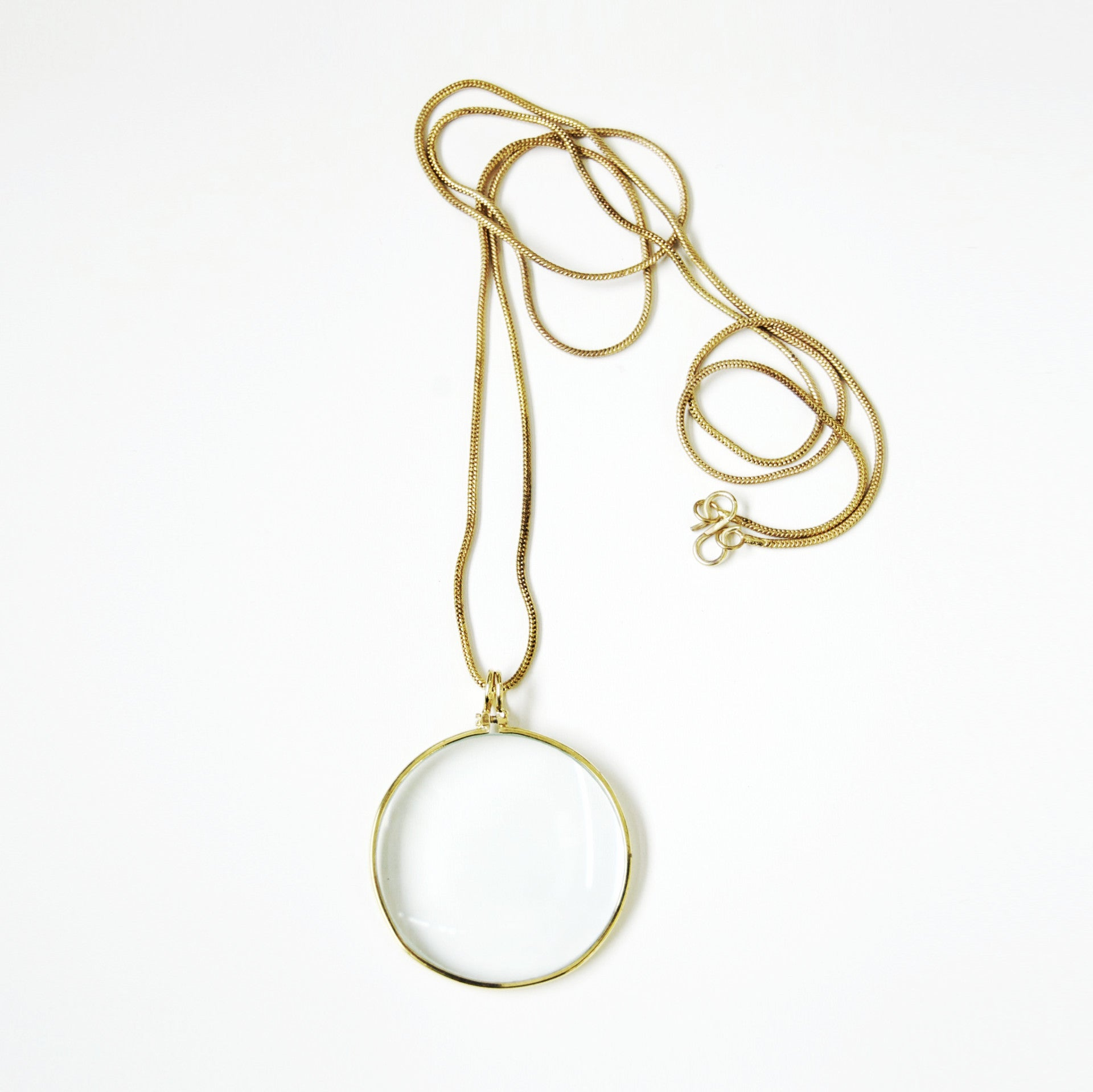 Magnifying Glass Necklace