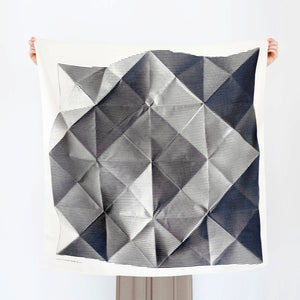 Folded Paper Scarf