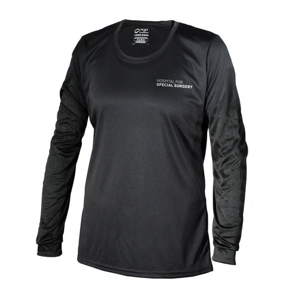"Women's ""Back In The Game"" Long Sleeve Performance Shirt"