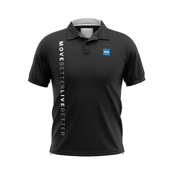 Men's Golf Shirt Black