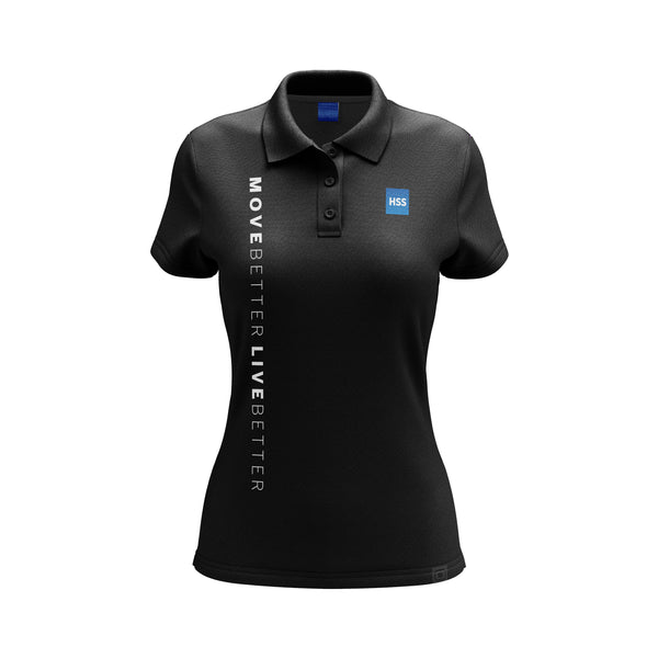 Women's Golf Shirt Black