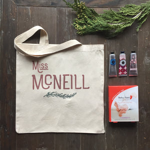 Better than an Apple: Personalized Totes for Your Favorite Teacher