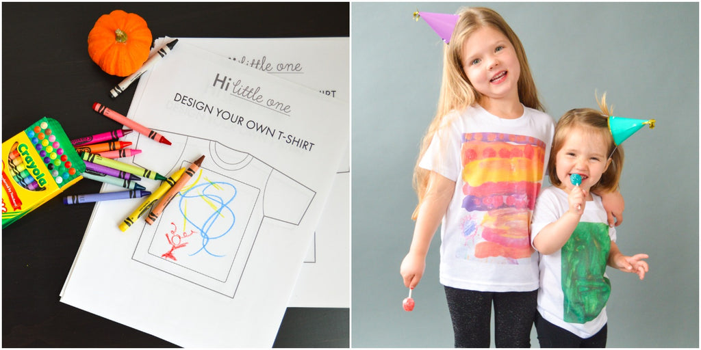 Design Your Own T-Shirt at Hi Little One