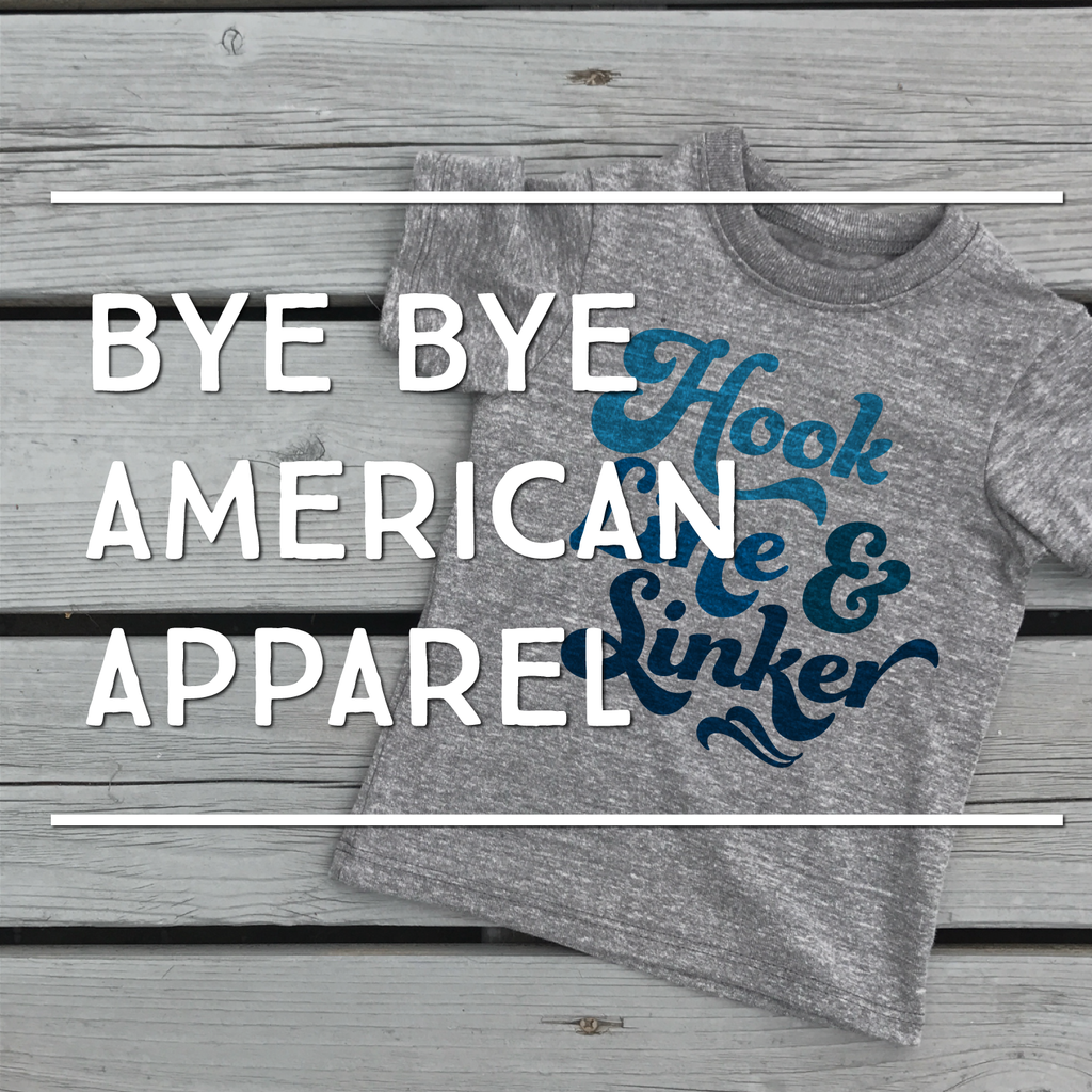 Saying Goodbye to American Apparel