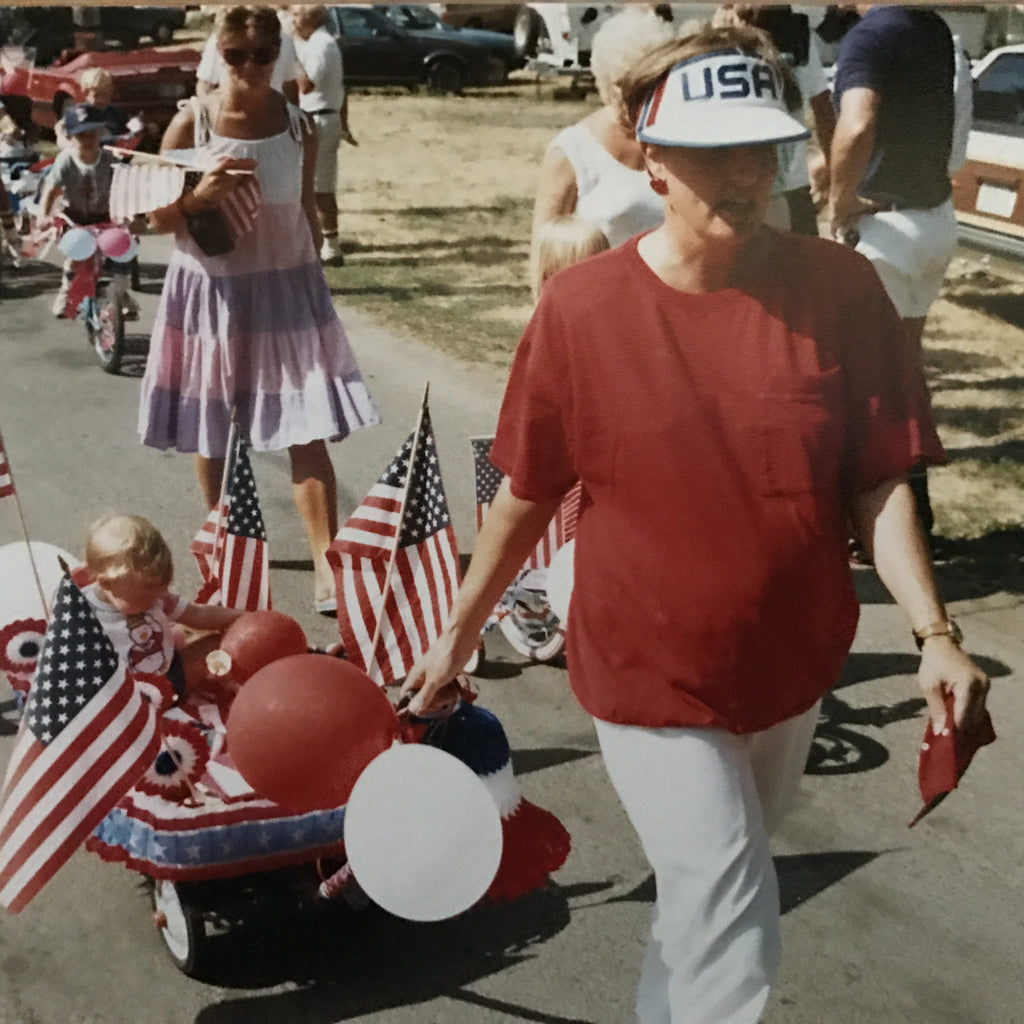Fourth of July Parade in CTWD USA, circa 1990