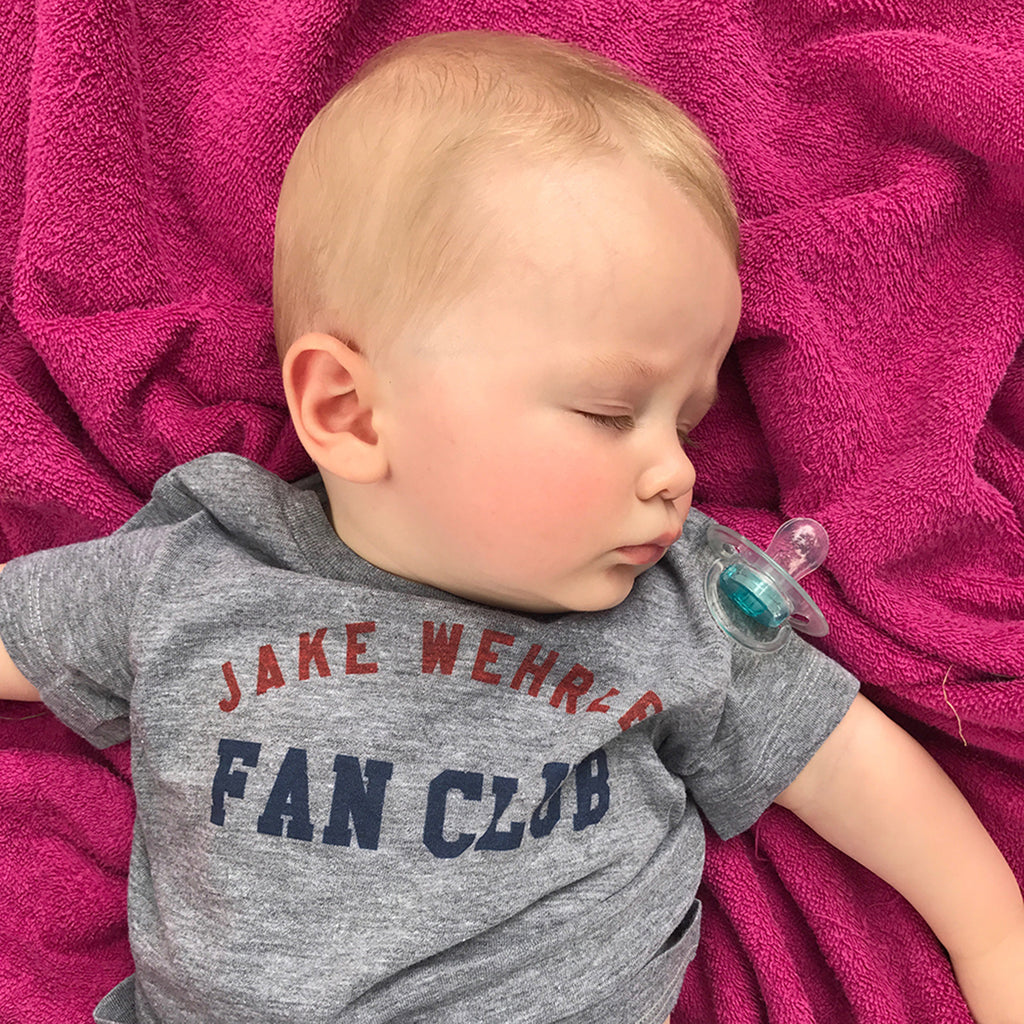 Custom Printed Fan Club Baby T-shirts