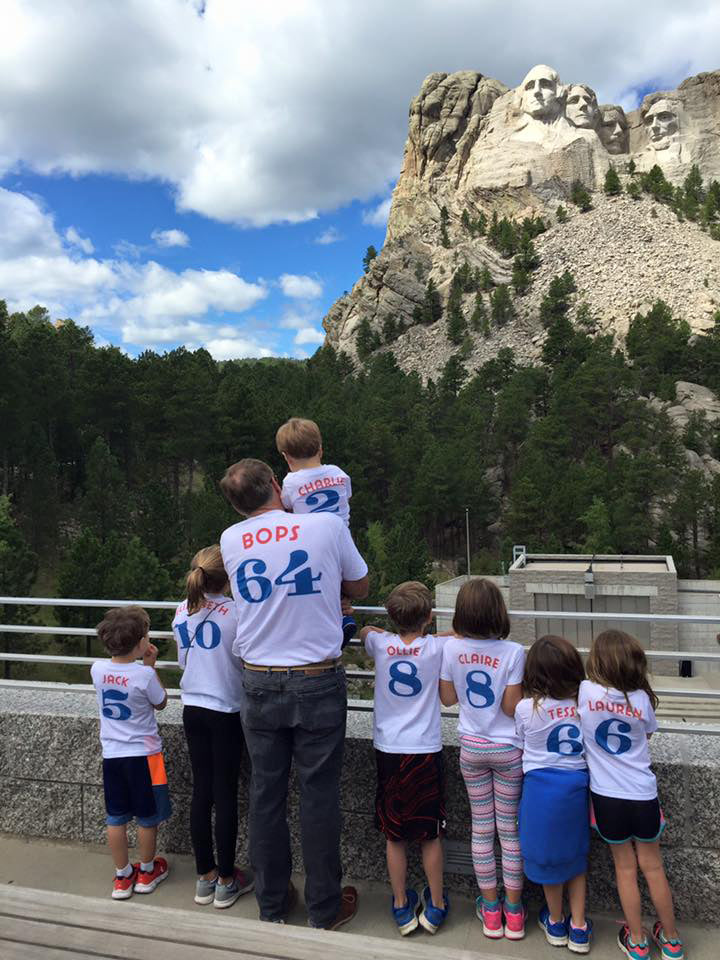 Culp family trip to Mount Rushmore