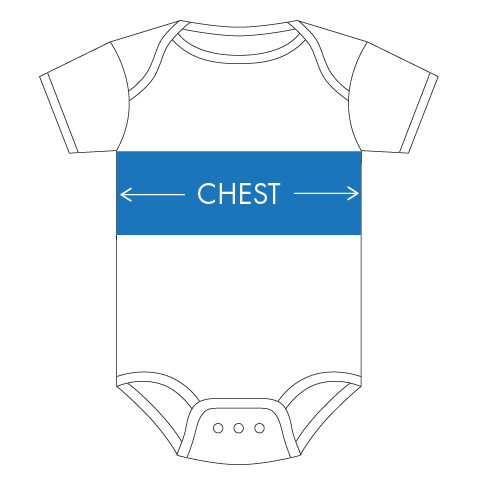 infant onesie sizing guide