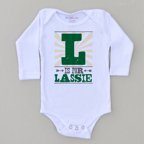 personalized infant one piece