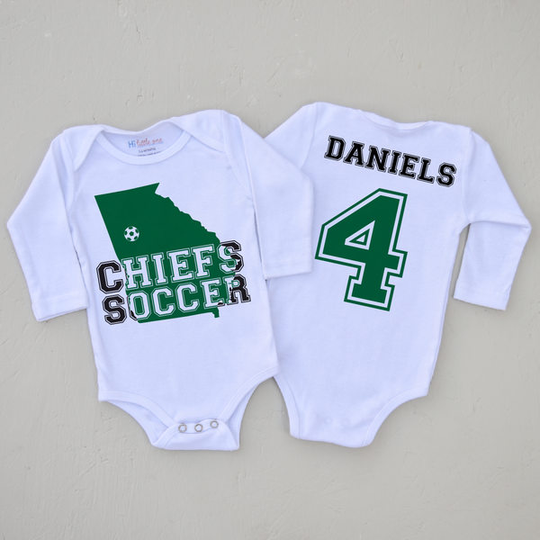 Personalized Onesie using Hometown