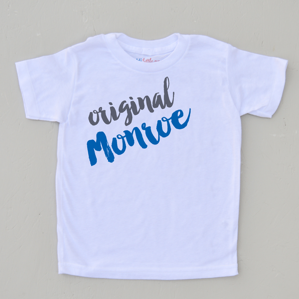 personalized children's Tee