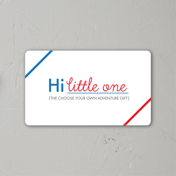 Hi Little One Gift Card {via email} at Hi Little One