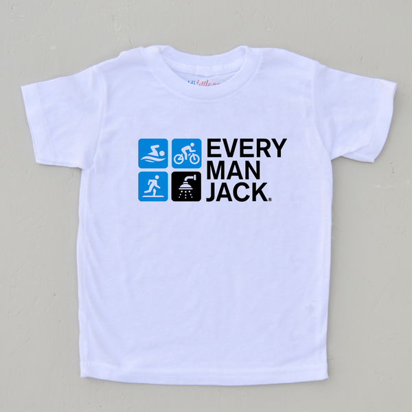 Every Man Jack Tri-Team T-Shirt at Hi Little One