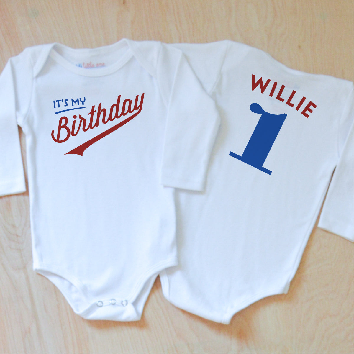 f37ad311c Personalized Birthday Onesie