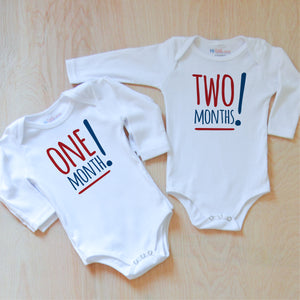 Simple Style Month by Month Set at Hi Little One