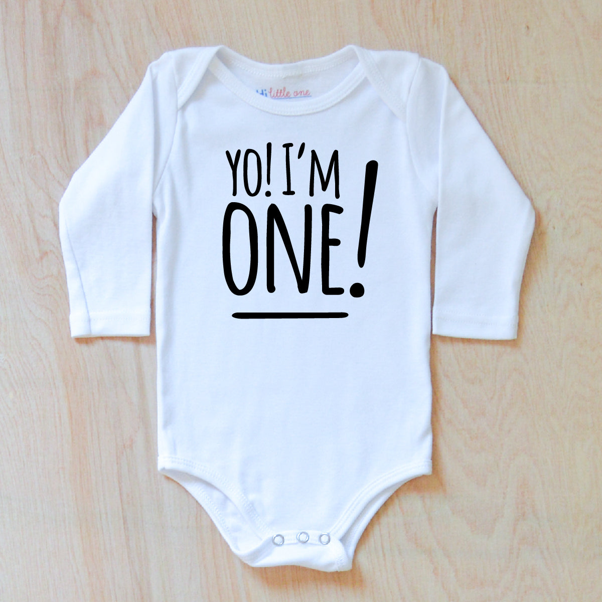 First Birthday Onesie At Hi Little One
