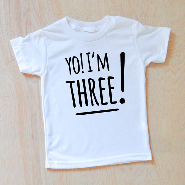 Kids Birthday T Shirt At Hi Little One