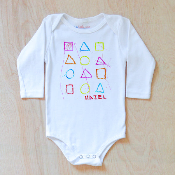 Color Your Own Onesie at Hi Little One
