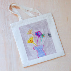 Color Your Own Tote at Hi Little One