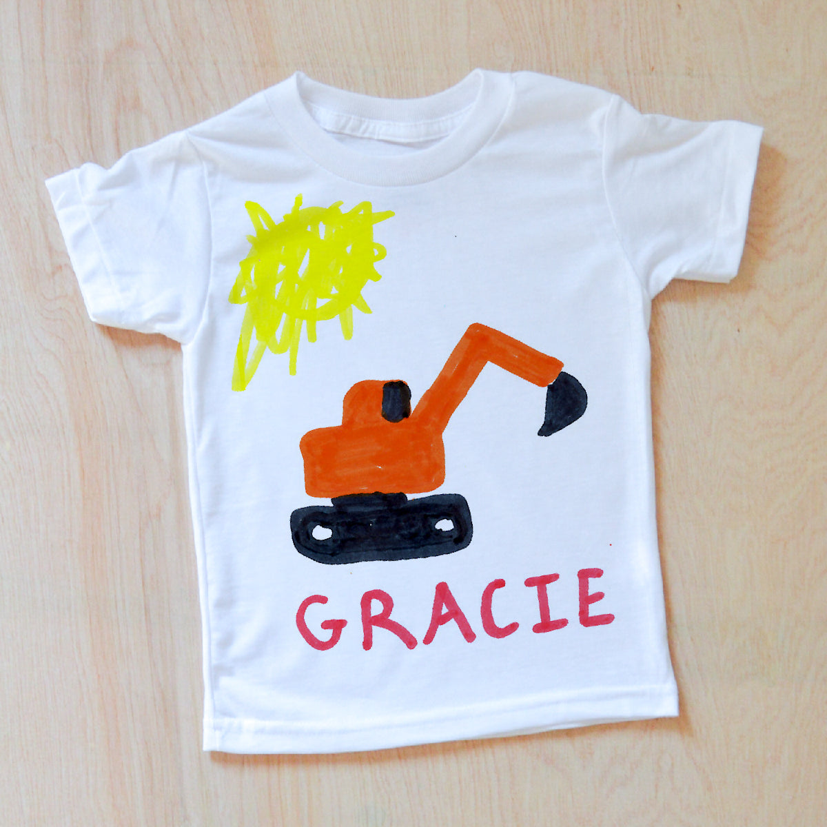Color Your Own T-Shirt | Turn Your Child's Artwork into a T-shirt ...