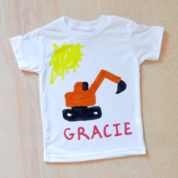 Color Your Own T-Shirt at Hi Little One