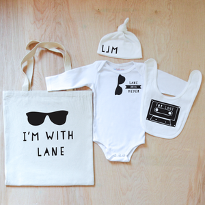 Cool Kids Personalized 4 Piece Set at Hi Little One