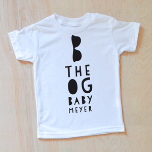 Cool Kids Personalized T-shirt at Hi Little One