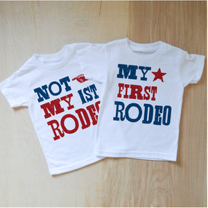 My First Rodeo / Not My First Rodeo Set at Hi Little One