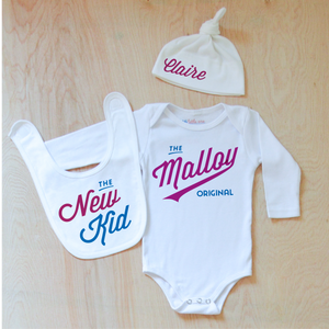Little League Personalized 3 Piece Set at Hi Little One