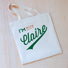 Little League Personalized Tote