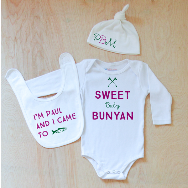 North Country Personalized 3 Piece Set at Hi Little One