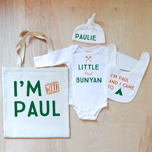 North Country Personalized 4 Piece Set at Hi Little One