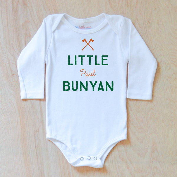 North Country Personalized Onesie