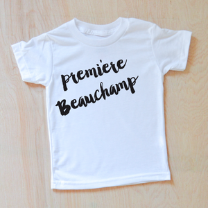 Oui Oui Personalized T-shirt at Hi Little One