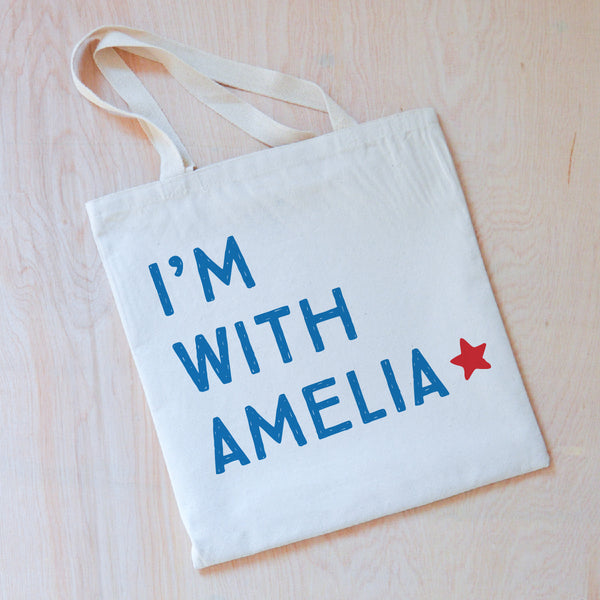 Patriot Personalized Tote