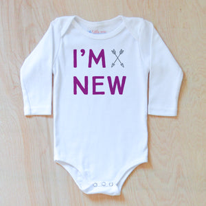 I'm New Onesie at Hi Little One