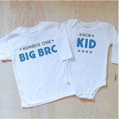 Big Bro + New Kid Sibling Set at Hi Little One