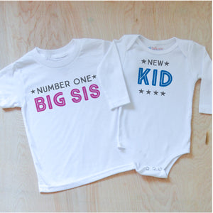 Big Sis + New Kid Sibling Set at Hi Little One