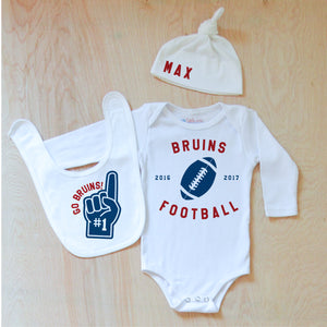 Varsity Personalized 3 Piece Set at Hi Little One