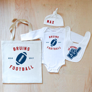 Varsity Personalized 4 Piece Set at Hi Little One