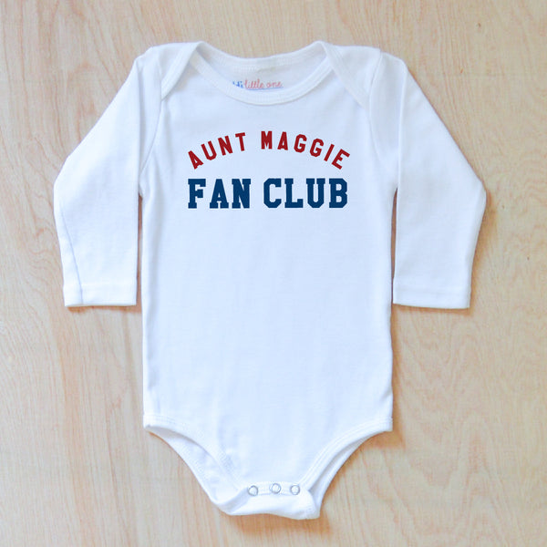 Personalized Fan Club Onesie