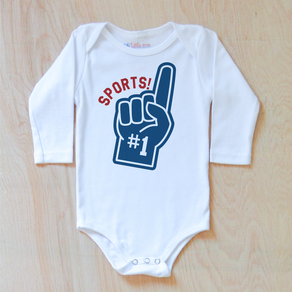 Varsity Sports! Onesie (Personalizable)