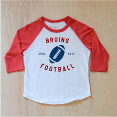 Varsity Personalized Red Raglan