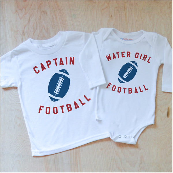 Varsity Captain + Water Boy/Girl Sibling Set
