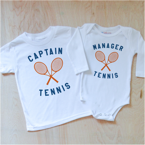 Varsity Captain + Water Boy/Girl Sibling Set at Hi Little One