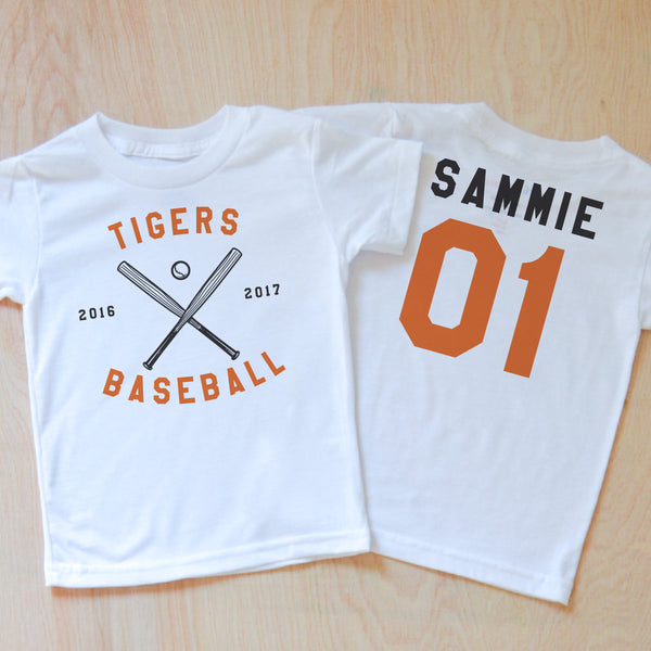 Personalized Varsity T-Shirt