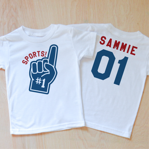 Varsity Sports! T-Shirt (Personalizable) at Hi Little One